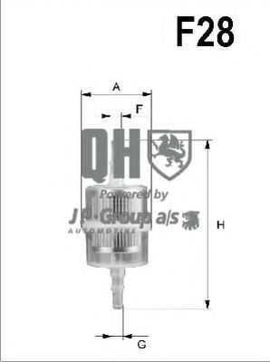 Топливный фильтр JP GROUP 3318700209