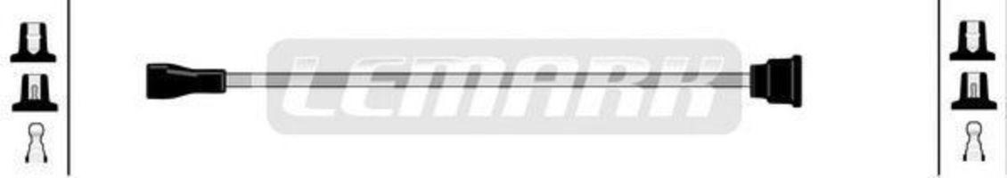 Провод зажигания HIGH VOLT LUL0406