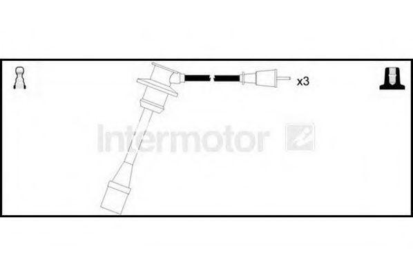 Комплект проводов зажигания HIGH VOLT 76371