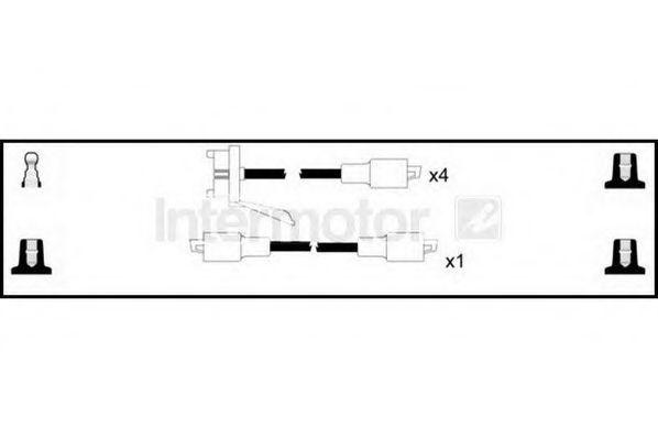 Комплект проводов зажигания HIGH VOLT 76127