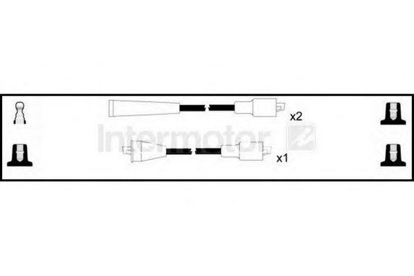 Комплект проводов зажигания HIGH VOLT 76203