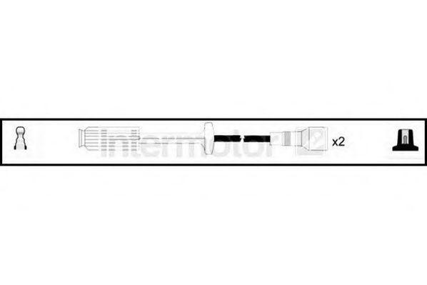 Комплект проводов зажигания HIGH VOLT 76353