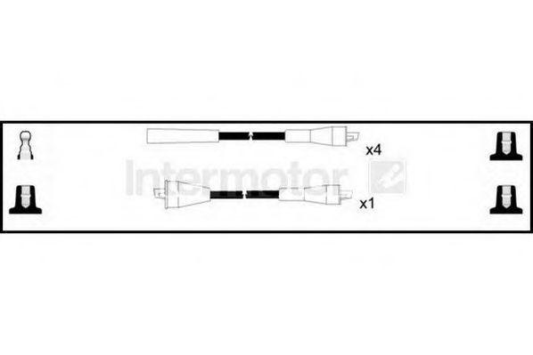 Комплект проводов зажигания HIGH VOLT 73550