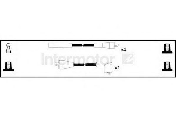 Комплект проводов зажигания HIGH VOLT 73675