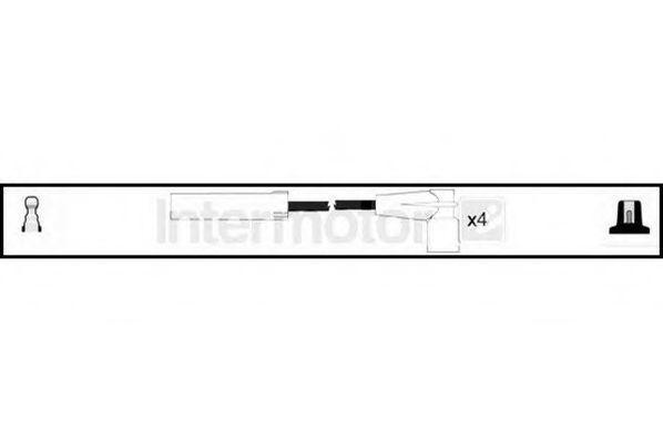 Комплект проводов зажигания HIGH VOLT 73979
