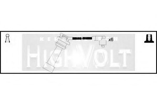 Комплект проводов зажигания HIGH VOLT OEF131