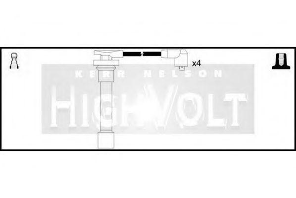Провода высоковольтные комплект HIGH VOLT OEF236