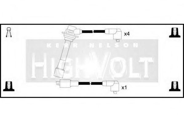 Провода высоковольтные комплект HIGH VOLT OEF094