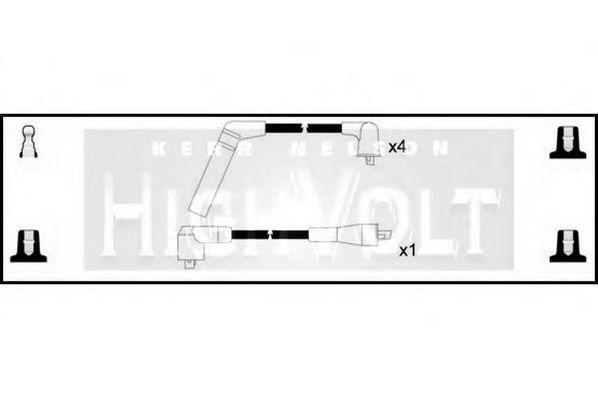 Провода высоковольтные комплект HIGH VOLT OEF261