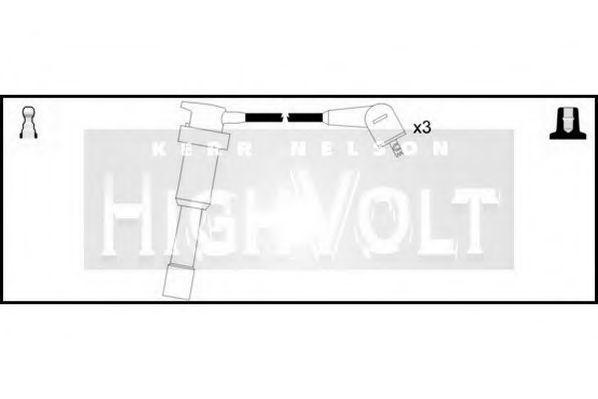 Провода высоковольтные комплект HIGH VOLT OEF230