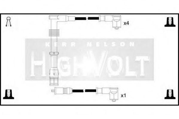 Провода высоковольтные комплект HIGH VOLT OEF320