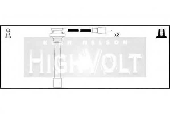 Провода высоковольтные комплект HIGH VOLT OEF336