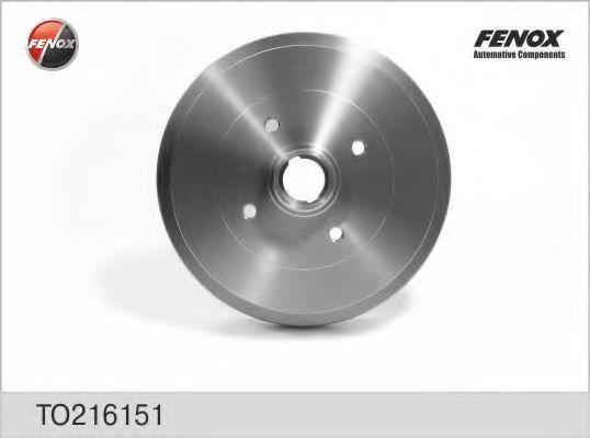 Тормозной барабан FENOX TO216151