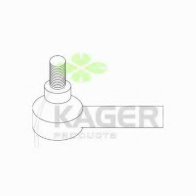 Наконечник рулевой тяги KAGER 430544