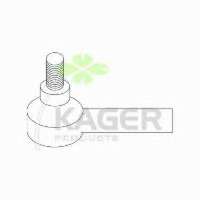 Наконечник рулевой тяги внешний KAGER 43-0703