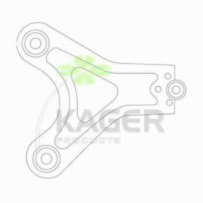 Рычаг независимой подвески колеса, подвеска колеса KAGER 870715