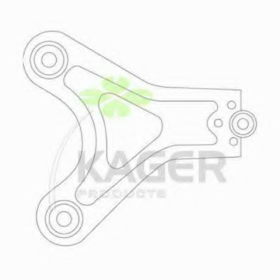 Рычаг независимой подвески колеса, подвеска колеса KAGER 871051
