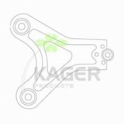 Рычаг независимой подвески колеса, подвеска колеса KAGER 871077
