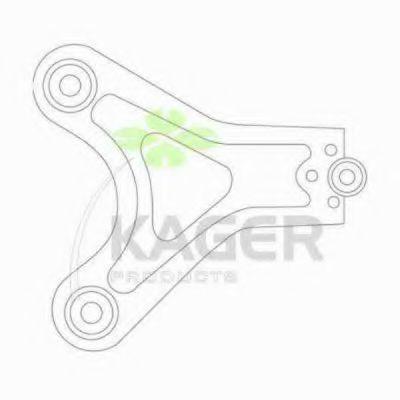 Рычаг независимой подвески колеса, подвеска колеса KAGER 871342