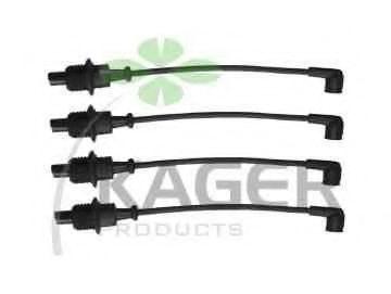 Провода высоковольтные комплект KAGER 640004