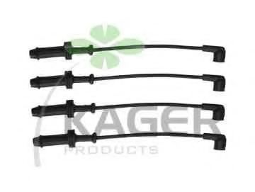 Провода высоковольтные комплект KAGER 640095