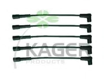 Провода высоковольтные комплект KAGER 64-0233