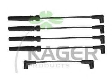 Провода высоковольтные комплект KAGER 640242