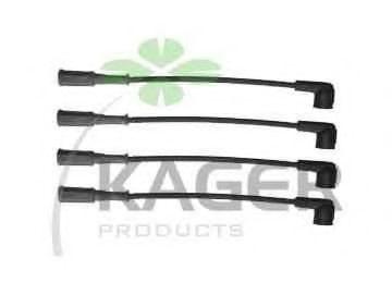 Провода высоковольтные комплект KAGER 64-0280
