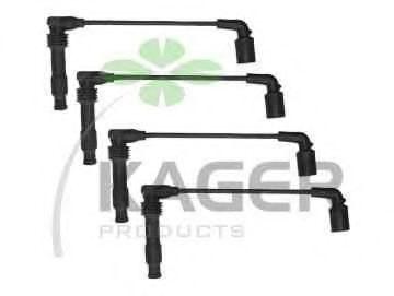 Провода высоковольтные комплект KAGER 64-0348