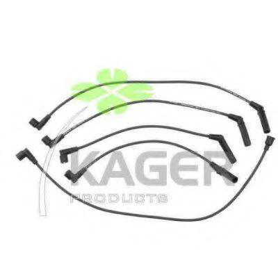 Провода высоковольтные комплект KAGER 641116