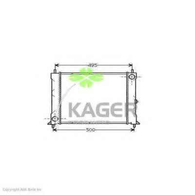 Радиатор охлаждения KAGER 310075