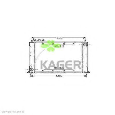 Радиатор охлаждения KAGER 310087