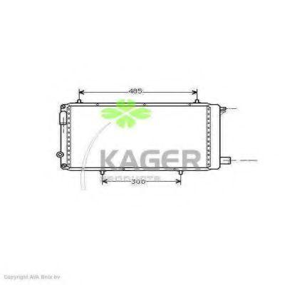 Радиатор охлаждения KAGER 310161