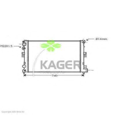 Радиатор охлаждения KAGER 310165