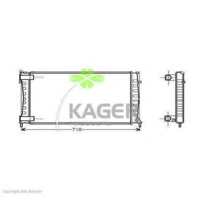 Радиатор охлаждения KAGER 310186
