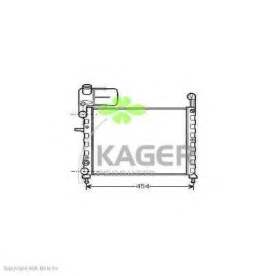 Радиатор охлаждения KAGER 310394