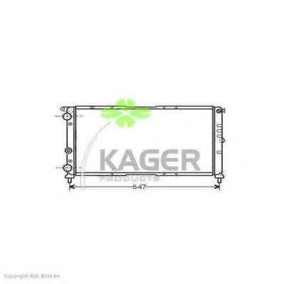 Радиатор охлаждения KAGER 310405