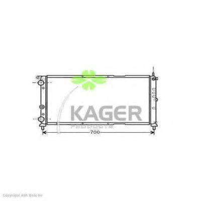 Радиатор охлаждения KAGER 310406