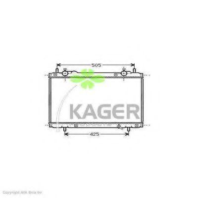 Радиатор охлаждения KAGER 310423
