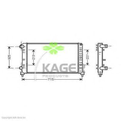 Радиатор охлаждения KAGER 310443
