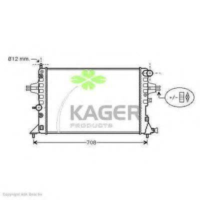 Радиатор охлаждения KAGER 310798
