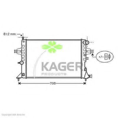 Радиатор охлаждения KAGER 310809
