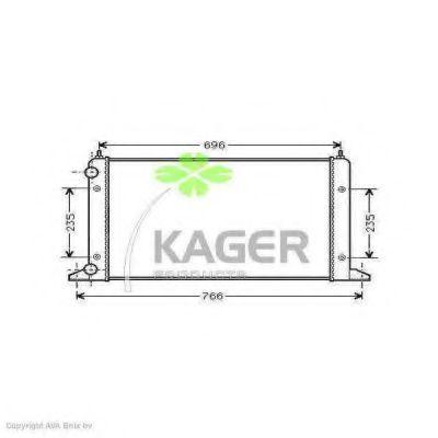 Радиатор охлаждения KAGER 311211