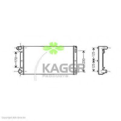 Радиатор охлаждения KAGER 312930