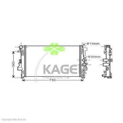 Радиатор охлаждения KAGER 313489