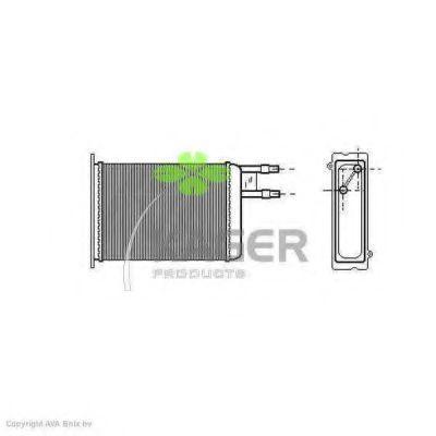 Радиатор отопителя KAGER 320021