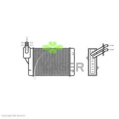 Радиатор отопителя KAGER 320134