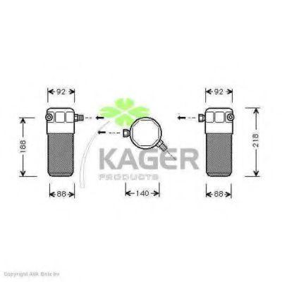Осушитель кондиционера KAGER 945017
