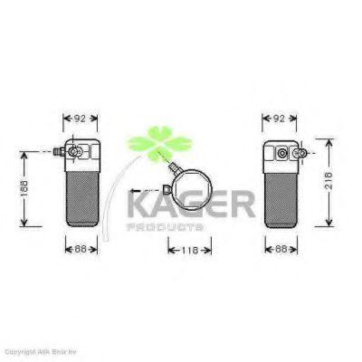 Осушитель кондиционера KAGER 945018
