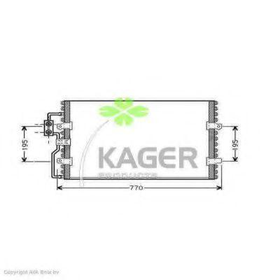 Конденсор кондиционера KAGER 945062